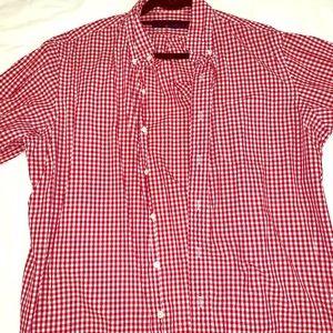 Stripped Cotton Poplin Shirt